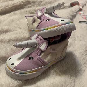 BNWT Purple Unicorn Vans
